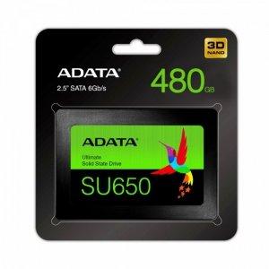 Adata Dysk SSD Ultimate SU650 480G 2.5 S3 3D TLC Retail