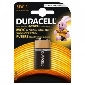 Duracell Bateria 6LR61 9V blister 1 szt.
