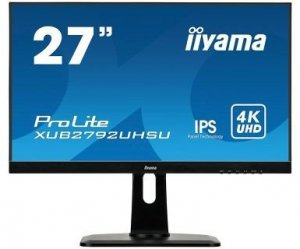 IIYAMA Monitor 27 cali XUB2792UHSU-B1 4K,IPS,USB,DP,HDMI,PIP