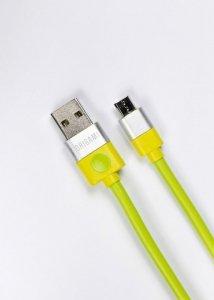 Lark Kabel USB do Micro USB Origami 3m zielony