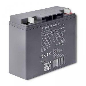 Qoltec Akumulator AGM 12V | 17Ah | max. 255A