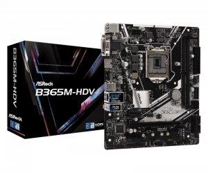 ASRock Płyta główna B365M-HDV s1151 2DDR4 HDMI/DVI/D-SUB UATX