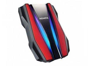 Adata Dysk twardy zewnętrzny HD770G 2TB USB3.2 czerwony