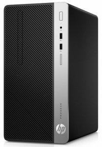HP Inc. Komputer ProDesk 400MT G6 i3-9100 256/8GB/DVD/W10P 7EL67EA