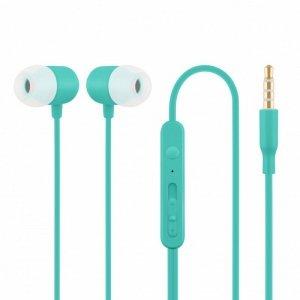 ACME Europe Słuchawki z mikrofonem douszne niebieskie HE21B