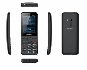 Maxcom Telefon MM 139 DUAL SIM czarny