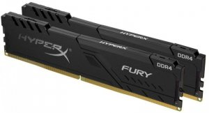 HyperX Zestaw pamięci DDR4 Fury Black 16GB/3600 (2x8GB) CL17