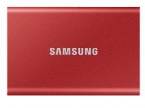 Samsung Dysk Portable T7 500GB USB 3.2 Gen.2 czerwony