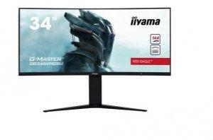 IIYAMA Monitor 34 cale GB3466WQSU-B1 VA,UWQHD,144HZ,1MS,1500R,HDMI/DPx2,USB 3.0