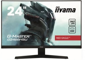 IIYAMA Monitor 23.6 cale G2466HSU-B1,FHD,VA,165HZ,1500R,1MS,DP,HDMIx2,USBx2