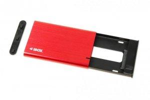 iBOX Obudowa IBOX HD-05 2.5 USB 3.1 Czerwona