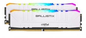 Crucial Pamięć DDR4 Ballistix RGB 32/3200 (2*16GB) CL16 Biała