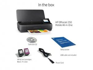 HP Inc. HP Officejet 250 AiO Printer CZ992A