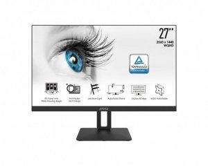 MSI Monitor PRO MP271QP  27 cala/FLAT/LED/WQHD/NonT/Black