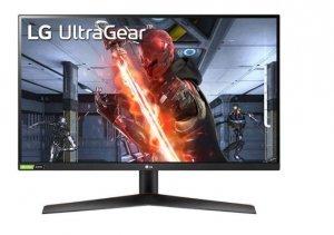 LG Electronics Monitor 27GN600-B UltraGear 27 cali Full HD IPS 1ms (GtG) Gaming Monitor  with NVIDA C-SYNC compatible