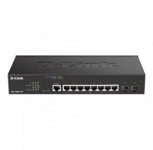 D-Link Przełącznik DGS-2000-10P 8xGE PoE 2xSFP