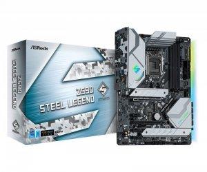 ASRock Płyta główna Z590 Steel Legend s1200 4DDR4 HDMI/DP M.2 ATX
