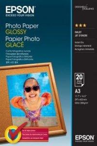 Epson Papier Photo Glossy A3 20 arkuszy 200g/mkw