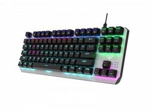 AULA Gaming Aegis Mechaniczna klawiatura dla graczy TKL czerwone przełączniki