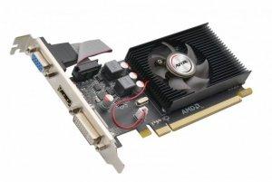 AFOX Karta graficzna - Radeon R5 220 2GB DDR3 64Bit DVI HDMI VGA LP Fan L4