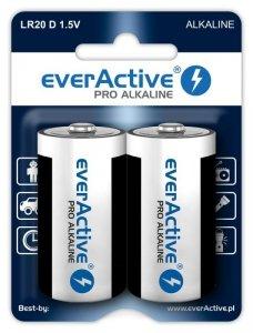 everActive Baterie LR20/D blister 2 szt.