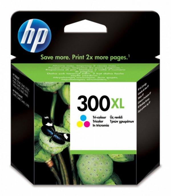 HP Inc. Tusz nr 300 Kolor XL CC644EE