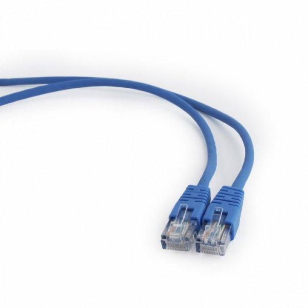 Gembird Patch cord kat.5e osłonka zalewana 1M niebieski