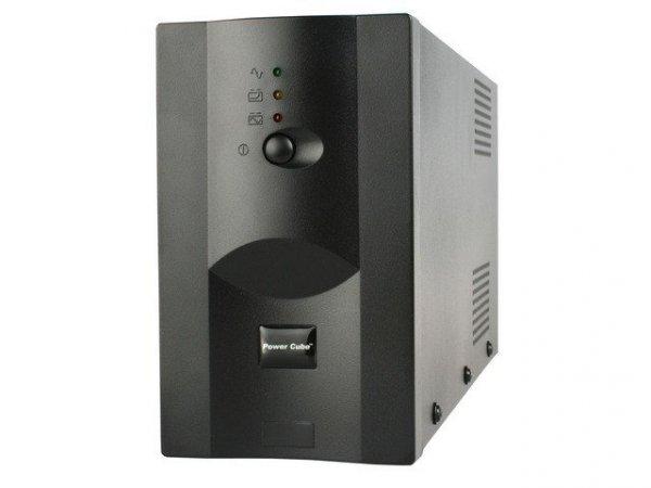 Gembird UPS POWER CUBE USB, RJ12X2 850VA