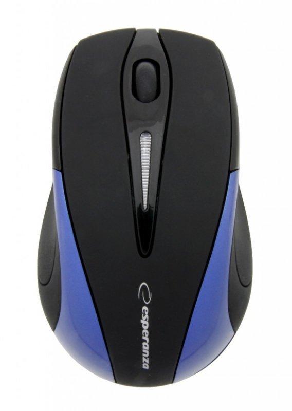 Esperanza Bezprzewodowa Mysz optyczna EM101B USB, 2,4 GHz, NANO odbiornik