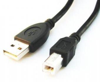 Gembird Kabel USB 2.0 typu AB AM-BM 1.8m czarny