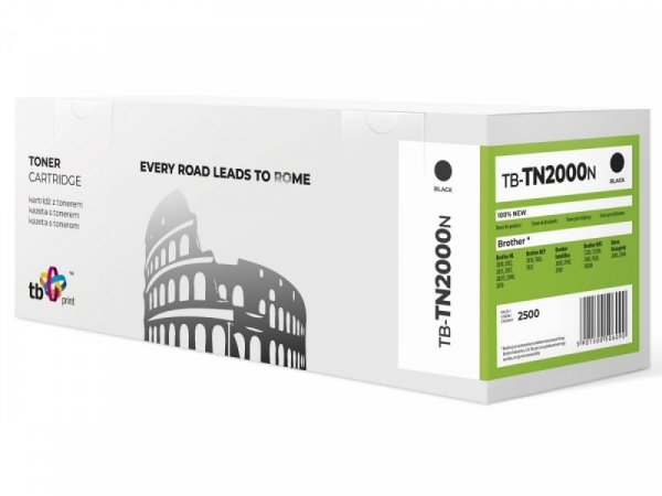 TB Print Toner do Brother TN2000 TB-TN2000N BK 100% nowy
