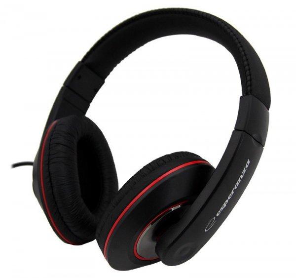 Esperanza Słuchawki  EH121 AUDIO STEREO/REG GLO/3.5/6.3mm