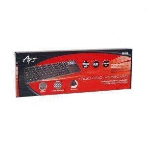 ART Klawiatura AK-68 + Touchpad  USB
