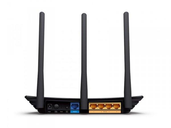 TP-LINK WR940N router xDSL WiFi N450 (2.4GHz) 1xWAN 4x10/100 LAN 3x5dBi