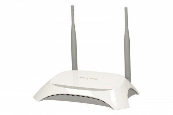 TP-LINK MR3420 router xDSL WiFi N300/3G 4xLAN 4x10/100 1xWAN 1xUSB (na modem)