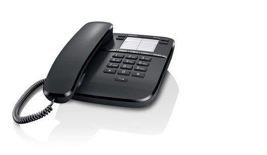 Gigaset Gigaset Telefon DA310 CZARNY przewodowy