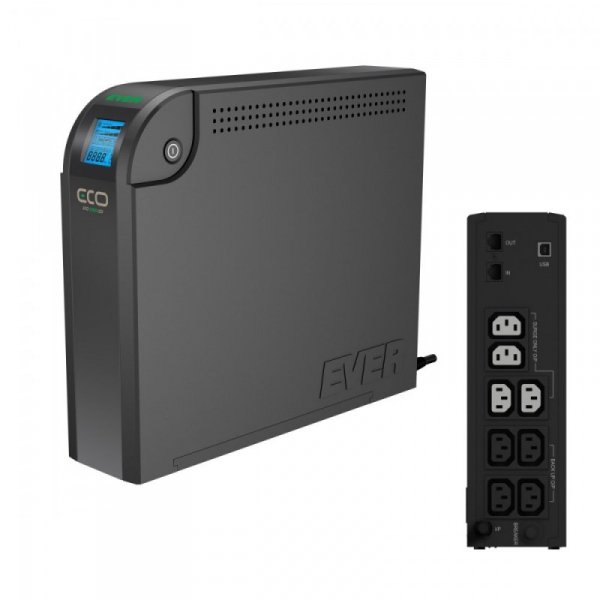 EVER UPS  ECO 800 LCD