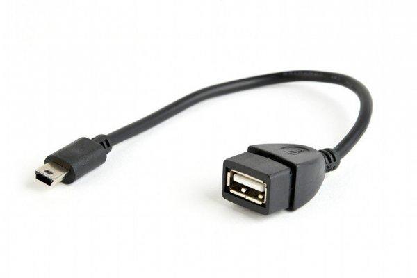 Gembird Kabel OTG USB Mini BM -> USB AF 15cm