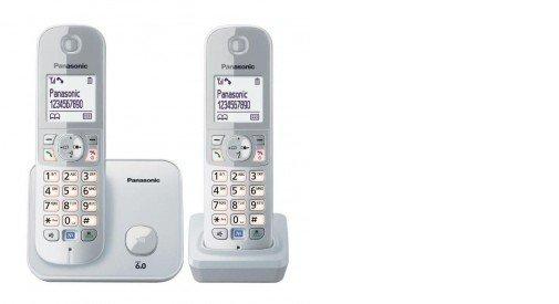 Panasonic Telefon KX-TG6812 Dect/Grey