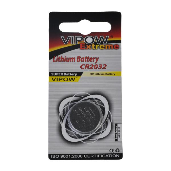 VIPOW Bateria EXTREME CR2032 1szt/blist.