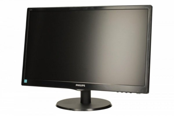Philips Monitor 21.5 223V5LSB2/10 LED Czarny
