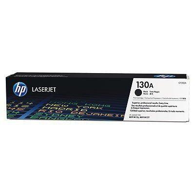 HP Inc. Toner 130A Black 1.3k CF350A