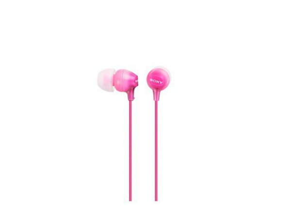 Sony Słuchawki ES Serie 9mm MDR-EX15LP pink