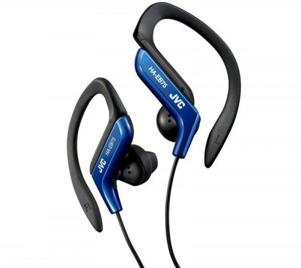 JVC Sportowe słuchawki HA-EB75-A-E NIEBIESKIE