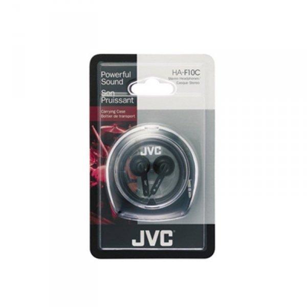 JVC Słuchawki douszne HA-F10C-EN CZARNE