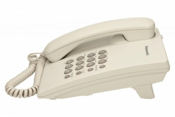 Panasonic KX-TS500 White Przewodowy/White