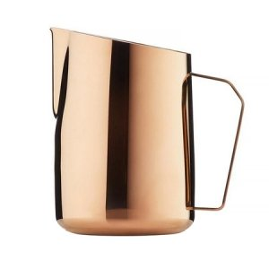 Barista & Co - Dial In Milk Pitcher Rose Brass - Dzbanek do mleka 600ml