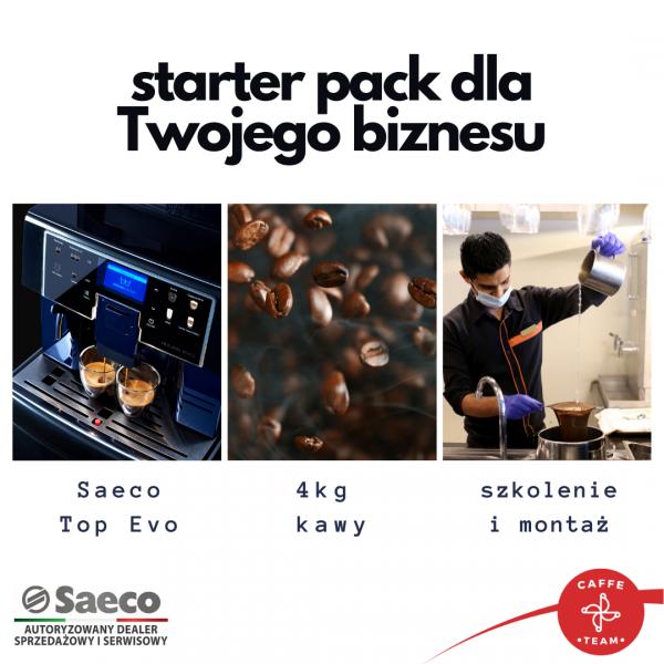 Zestaw Saeco Aulika Top EVO  + 4kg kawy + szkolenie i montaż