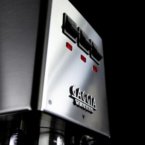 Stylowa obudowa ekspresu do kawy Gaggia CLASSIC ze stali nierdzewnej