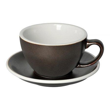 Loveramics Egg - Filiżanka i spodek Cafe Latte 300 ml - Gunpowder